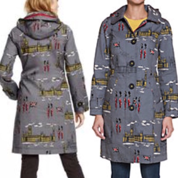 Boden Jackets   Blazers - Boden Rainy Day Mac Westminster print d4bb386ea
